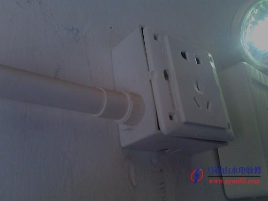 应急灯安装 马鞍山水电快修承接服务 一般安装门口,楼梯口等比较关键
