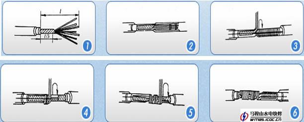 导线的连接,接线,电源线的接法