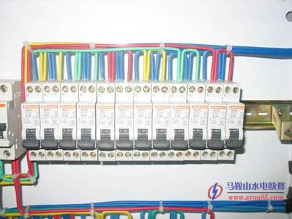 图解家用配电箱接线规范家里空气开关箱你接线方法图片